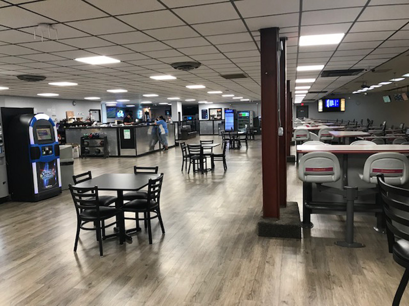 bowling concourse